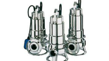 DW-DW VOX Serisi Komple Paslanmaz Çelik Dalgıç Atıksu Pompaları