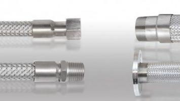 Fittings Kaynaklı Örgülü Flexible Metal Hortumlar
